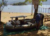 Oportunidad vendo bote inflable para cuatro personas
