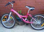 Vendo bicicleta aro 20 niña