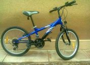 Vendo 2 bicicletas una aro 20 azul casi nueva de 7 a 11 años y otra de niña de 4 a 7 años