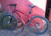 Vendo bicicleta marin bikes bobcat trail 2009 unico dueño, impecable