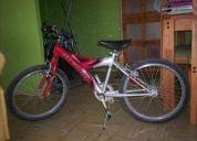 Vendo bicicleta usada, buen estado, montaÑesa oxford aro 20