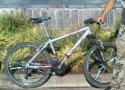 Bicicleta mtv para ruta y cerro