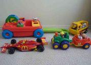 Coche y juguetes,,,todo de marca!!!!