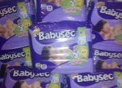 Venta de paÑales babysec premium