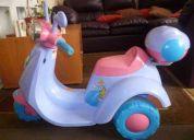 Se vende moto de princesas