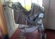 Vendo coche infanti + silla para auto