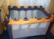 Cuna corral dos niveles con colchón de regalo 25000 las condes