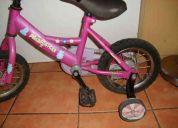bicicleta de niñita madagascar