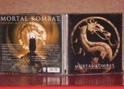 Se vende soundtrack mortal kombat original (varios interpretes)