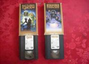 Vendo películas star wars vhs originales