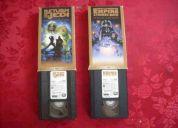 Vendo películas star wars vhs originales