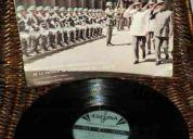 disco vinilo lp presentes en la alborada, de la banda de suboficiales del ejército