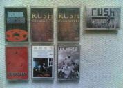 Rush cassette originales (siete en total)