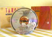 Cd garcía & aznar / tango / sony music 1986