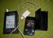 Vendo iphone 3gs 8gb para claro, full accesorios como nuevo