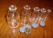 Frasquitos de vidrio