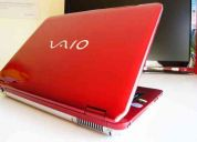 sony vaio vgn-cs270t  ideal para estudiantes diseño