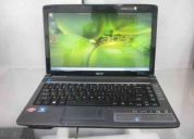 Vendo notebook acer aspire 4540 buenisimo potente