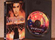 Se vende  v de venganza  en dvd original!!!