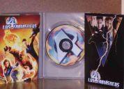 Se vende  los cuatro fantasticos edicion especial, en dvd original!!!