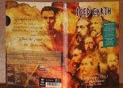 Se vende  gettysburg (1863)  iced earth limited 2 dvd set original