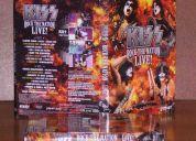 Se vende dvd kiss  rock the live nation original