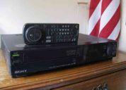 Vhs sony hi-fi stereo funcionando impecable