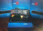 Decodificadores satelitales  fta original probox 530