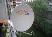 Venta de antenas parabolicas tipo tu ves hd recicladas