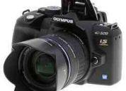 Vendo camara reflez olympus e-520 lente 14-42