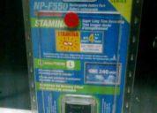 Vendo bateria sony np-f550 original nueva sellada.