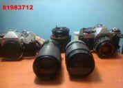 2 canon ae-1 program, 3 zoom y accesorios