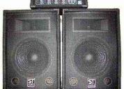 Parlantes + amplificador