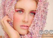 Book de fotos con maquillaje
