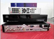 Deco s810b hdmi usb televisión satelital libre (fta)