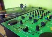 Vendo set tornamas dj, llegar y tocar (american audio, pyle)