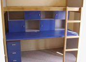 escritorios, camarotes infantiles, camarotes juveniles. www.cvlcomercial.cl