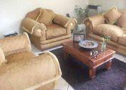 Living  sofa 3 cuerpos y dos sillones adicionales