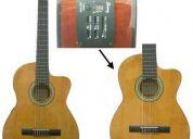 Vendo guitarra electroacústica con cuerdas de nylon