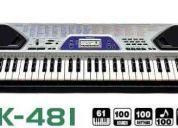 Vendo teclado casio ctk 481