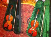 Vendo 2 violines nuevos
