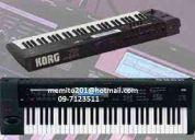 Sampler para korg u otros teclados dispongo mas de 800 .