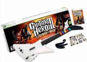 Vendo guitarra x-plorer para xbox 360 + guitar hero 3 en 30.000 ( nueva )