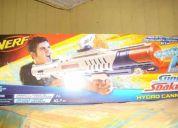 Vendo:pistola de agua hydro cannon dispara una distancia de 10,7 mts