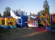 Arriendo de juegos inflables  para todas las comunas   91703532 juan carlos
