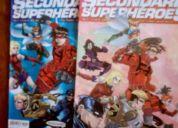 Secundaria de superheroes 2 tomos historia completa  comics