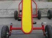 Autitos, botes, triciclos a pedales fabricamos en talca fonos 82266613 y 98750856