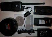 Vendo radio motorola ep450 usada (perfecto estado) + accesorios