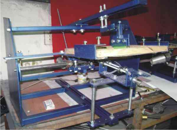 Maquina Serigrafica cilindrica