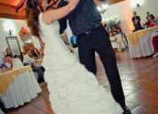 Vendo hermoso vestido de novia
